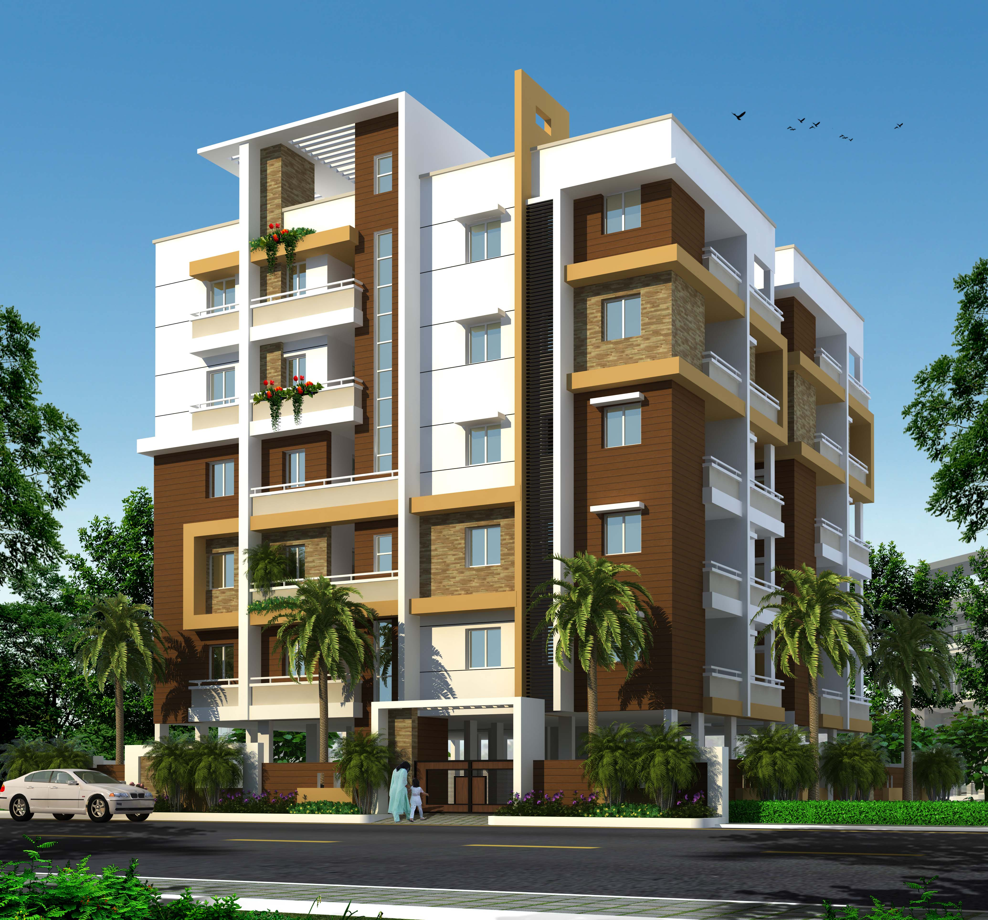 Mourya constructions for Apartment design development pvt ltd